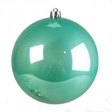 Turquoise Fashion Trend Shatterproof Baubles - Single 200mm