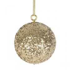 Gold Sequin Ball Hanger - 140mm