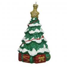 Shatterproof Christmas Tree Shaped Shatterproof Bauble