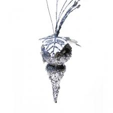 Silver 18cm Finial Decoration