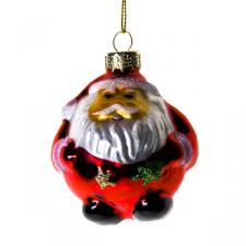 Retro Santa Claus - 6cm - 4 Pack