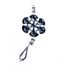 Jewelled Snowflake Hanging Decoration - 22cm