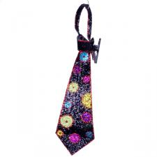 Clip On Retro Kipper Tie Decoration - 28cm