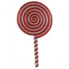 Red And White Lollipop - 200mm