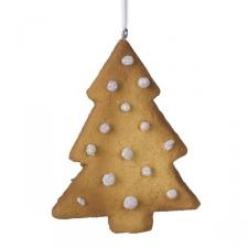 Tree Cookie Decoration - 9cm