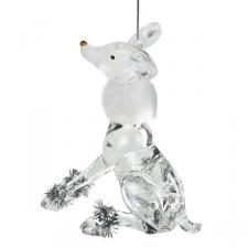 Sitting Reindeer Decoration - 10cm