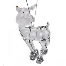 Standing Reindeer Decoration - 10cm