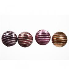 Purple Spangle Ball - 1 x 70mm