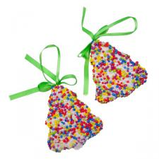 Bell Shaped Candy Decorations - 2 x 9cm