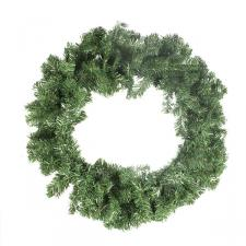 Green Pine Wreath - 80cm