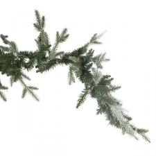 Aspen Green Foliage Garland - 270cm