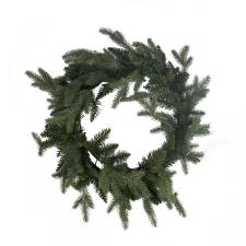 Aspen Green Foliage Wreath - 68cm