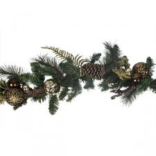 Bauble & Pinecone Range - 1.8m Garland