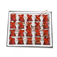 Gisela Graham Red Mini Bell Garland - 160cm