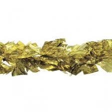 Holographic Giant Gold/Gold Laser Mix Luxury Rag Garland - 2.7m x 25cm