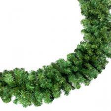 Natural Effect Green Pine Garland - 2.7m x 40cm