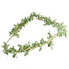 Frosted Mistletoe Garland - 1.8m