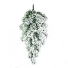 Artificial Green Pine Snow Effect Teardrop - 60cm