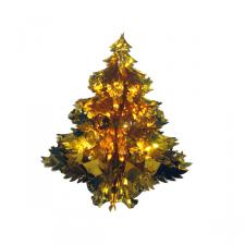 Gold Foil Hanging Tree Decoration - 40cm (16