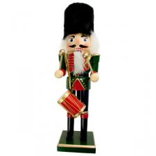 Green Wooden Nutcracker Ornament - 30cm