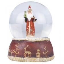 Gisela Graham Nostalgia Santa Snowdome - 8cm