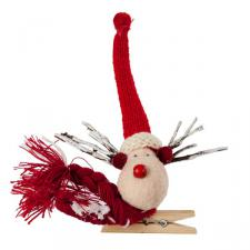 Nordic Reindeer Clip On Decoration - 15cm