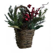 Natural Berry Basket - 30cm X 32cm