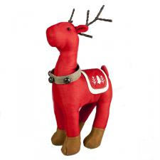 Gisela Graham Red Fabric Reindeer Ornament - 40cm