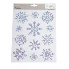 Assorted Snowflake Window Stickers