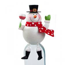 Snowman Bottle Top