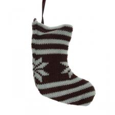 Hanging Snowflake Stocking - 18cm