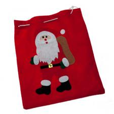 Santa Gift Sack - 26cm x 23cm