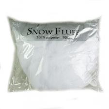 White Polyester Snow Fluff - 100 g