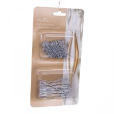 Twin Pack Of 150 Ornamental Hooks - Silver
