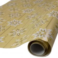 A Roll Of 70cm x 200cm Gift Wrap - Snowflakes