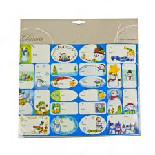 48 Assorted Sticker Gift Tags - Option 2