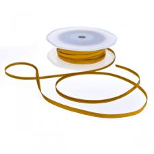Gold Double Face Satin Ribbon - 50m x 3.5mm