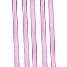 Raspberry Organza Satin Edge Ribbon - 10mm X 50m
