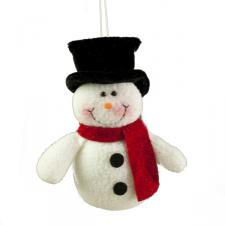Plush Snowman Character Toy - 15cm