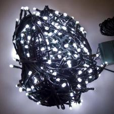 36m Length Of 360 White Multi Action Outdoor Premier Supabrights LED Fairy Lights Green Cable