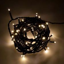 Konstsmide 5m Length Of 80 Soft White Multi Function Outdoor Micro LED Fairy Lights. Black Cable.