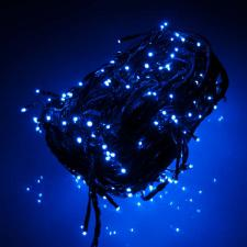 13.5m Length Of 180 Indoor And Outdoor Blue LED Multiaction Fairy Lights Black Cable