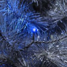 Konstsmide 6.24m Length Of 40 Blue Outdoor Static Micro LED Fairy Lights Black Cable