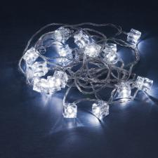 Konstsmide 5.75m Length Of 16 White Indoor Multiaction LED Ice Cube Fairy Lights Transparent Cable