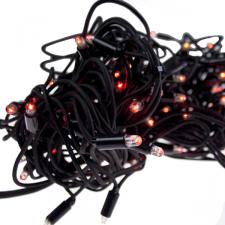 10m Length Of 100 Red Outdoor Static Connectable Light Creations LED String Fairy Lights.Black Cable