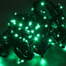 Festilight 10m Length Of 100 Indoor & Outdoor Green Connectable Animatable LED String Lights On Black Rubber Cable