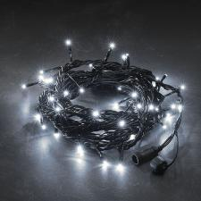 Konstsmide 5m Set Of 50 Static White Low Voltage Indoor & Outdoor Connectable LED Fairy Lights On Black Cable