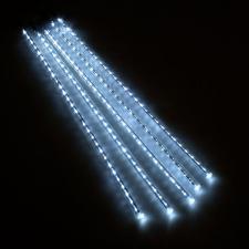White LED Snowfall Lights - 5 x 50cm  Tubes (150 LED's)