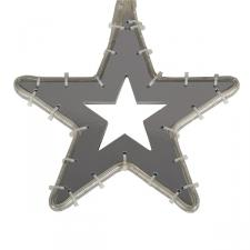 White LED Star Silhouette - 30cm