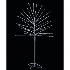 White LED Twig Tree With Timer - 1.8m